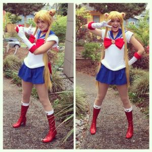 Sailor Moon Usagi Serena costume cosplay anime