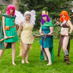 Clash of Clans costumes halloween cosplay