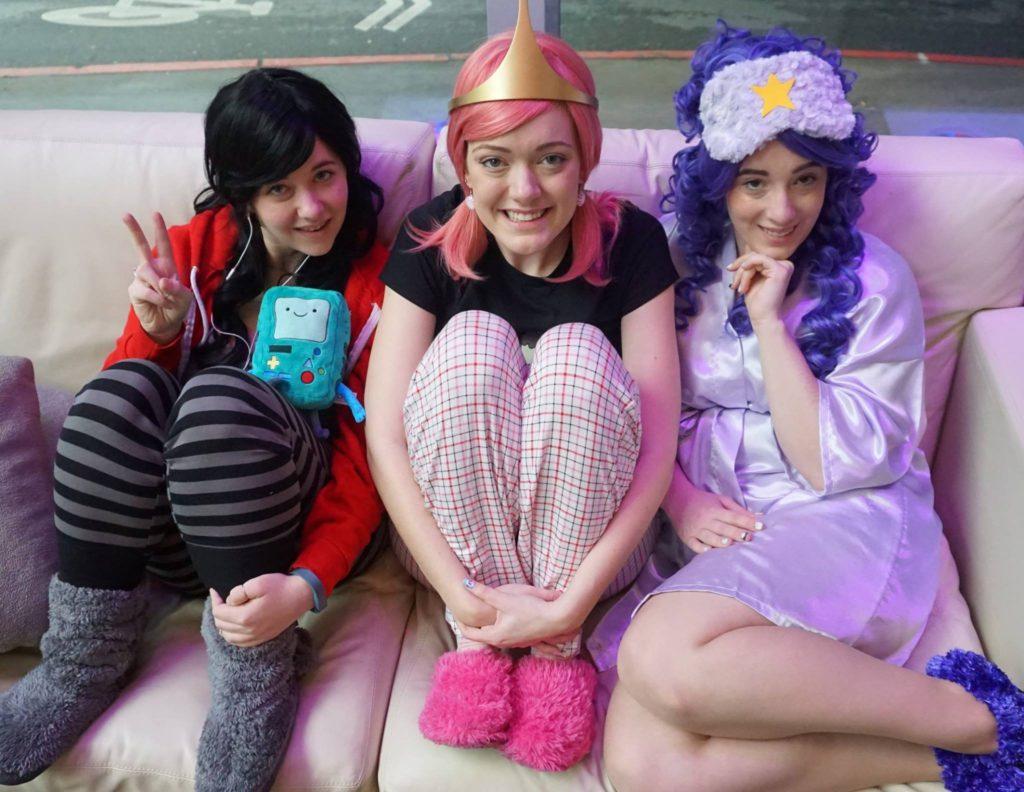 adventure time princess pajamas slumber party