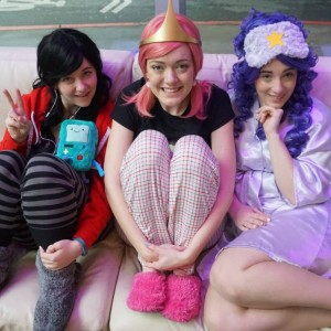 adventure time princess pajamas slumber party