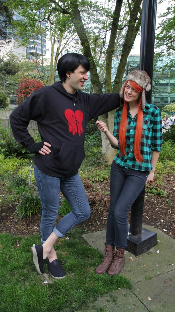 wendy and robbie gravity falls costumes