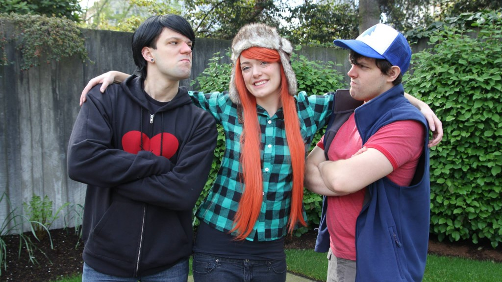 wendy robbie and dipper from gravity falls costumes