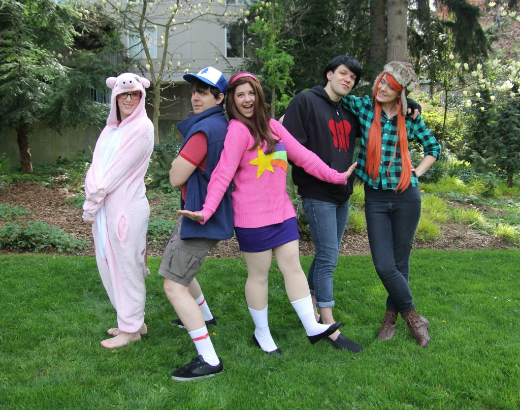 gravity falls cosplay costume full group