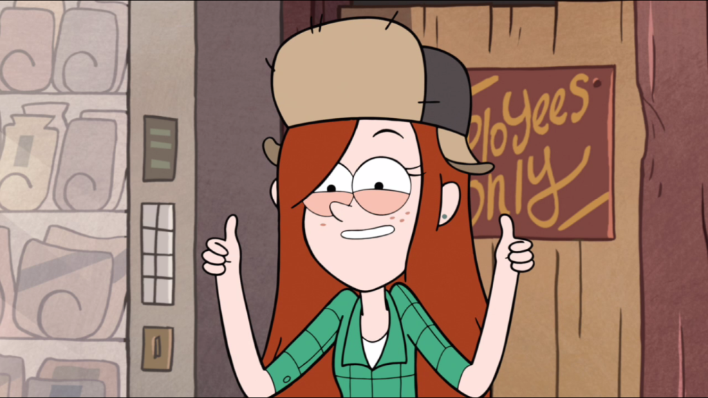 thumbs up wendy photo gravity falls
