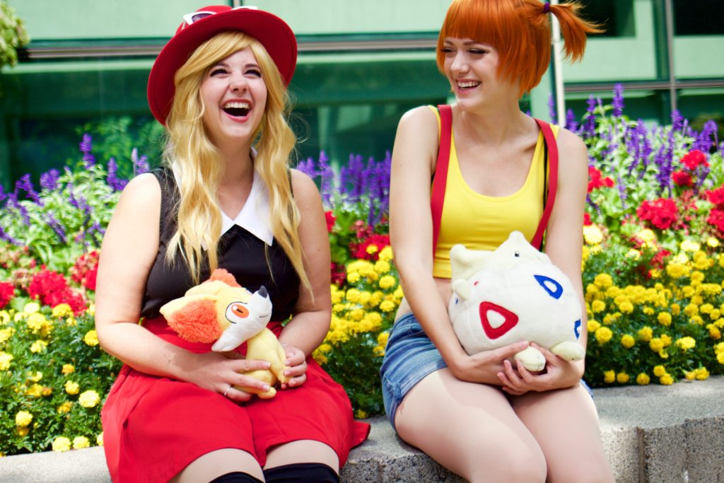 misty cosplay, serena cosplay, pokemon costumes