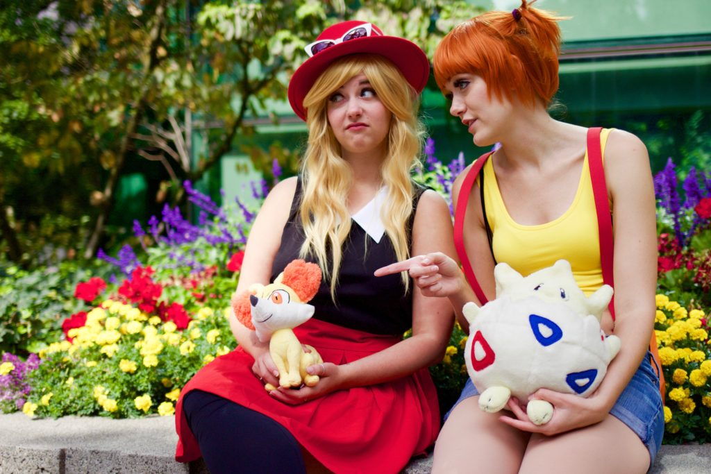 misty pokemon costume cosplay togepi backpack serena girl power best friends costumes