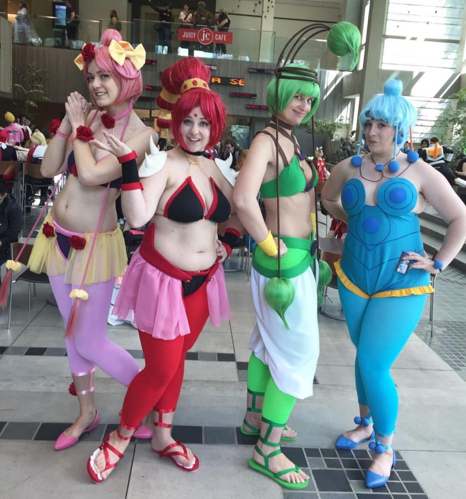 cerecere cosplay, amazoness quartet cosplay, amazoness quartet costumes