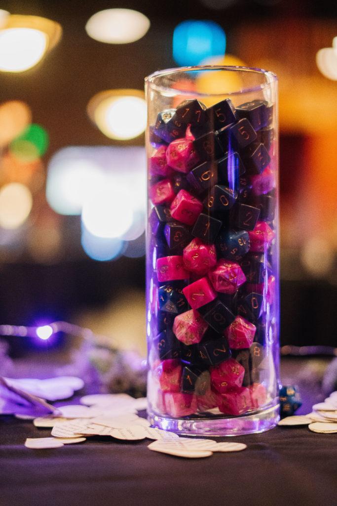 wedding dice D&D