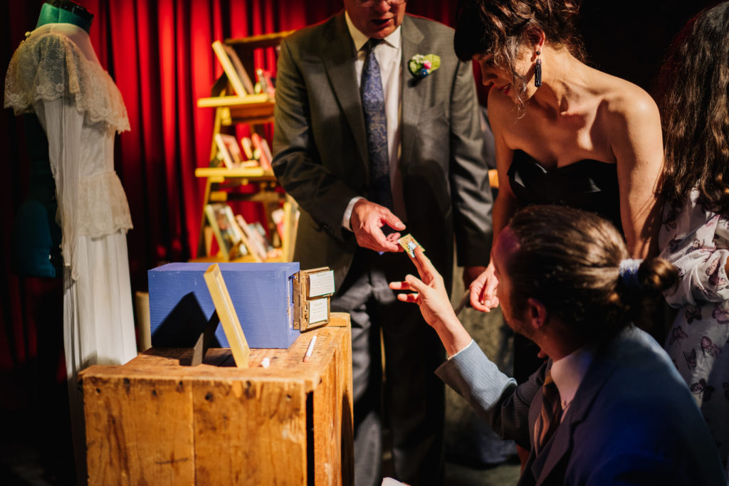 escape room wedding