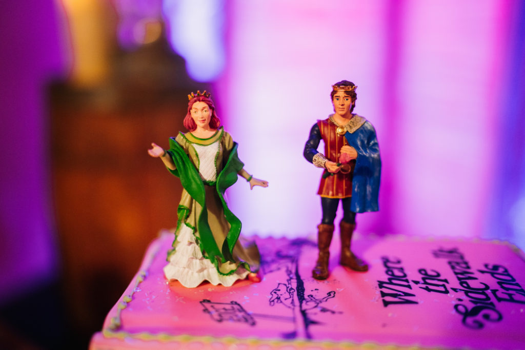 Medieval cake toppers
